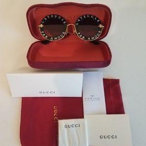 Round Gucci Sunglasses